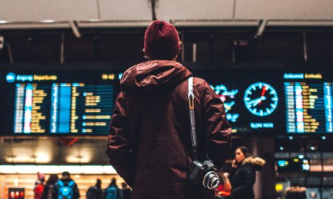海外旅行者の写真