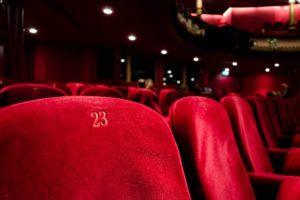 映画館の写真