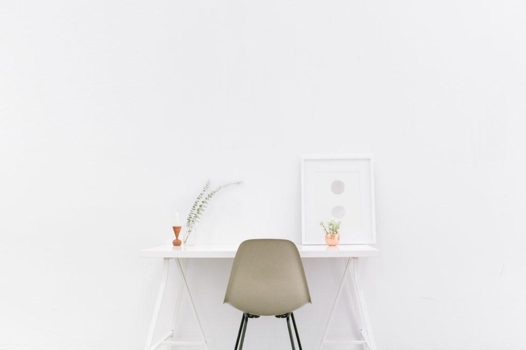 シンプルな空間の写真