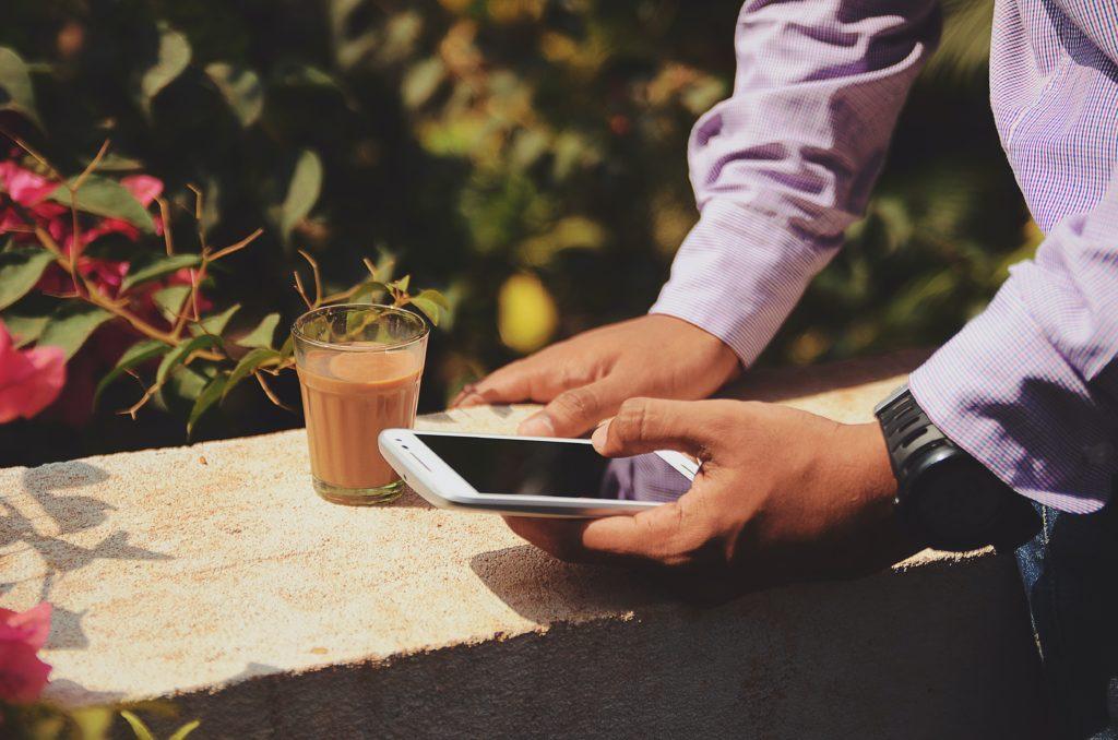スマホアプリの写真