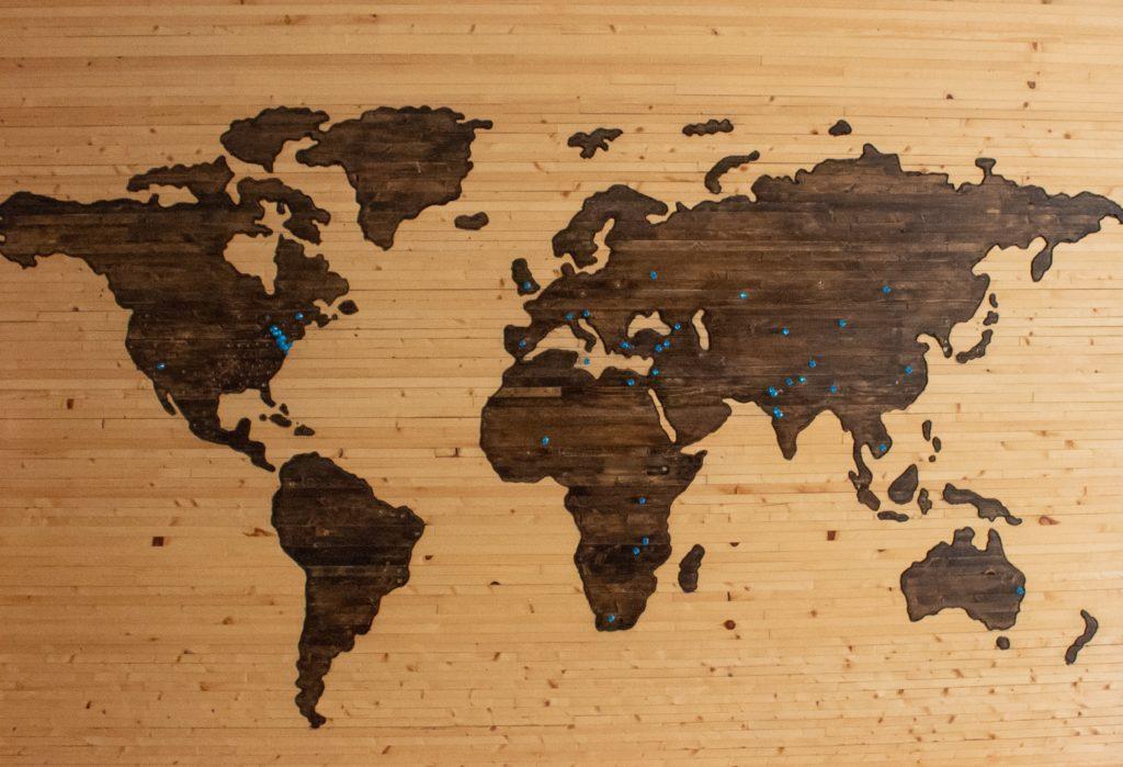 海外旅行の写真