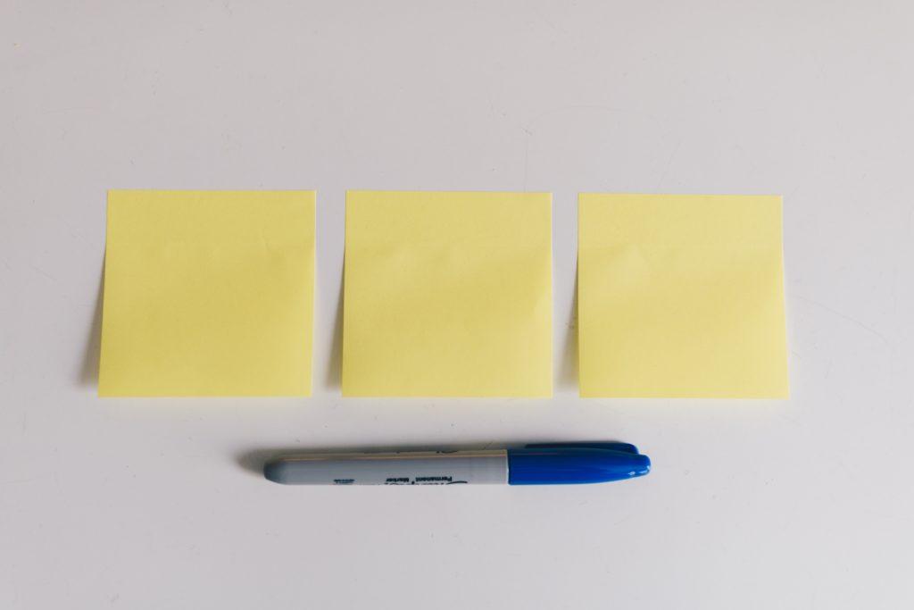 3つの考え方の写真