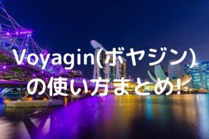 Voyaginの使い方の写真