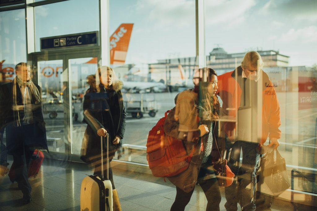 海外LCC荷物の写真