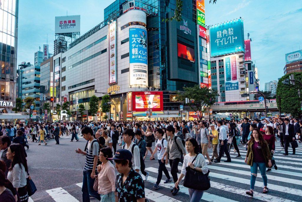 日本の英語話者の写真
