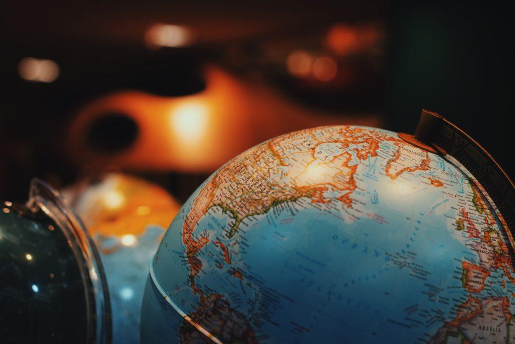 世界中の英語圏の写真