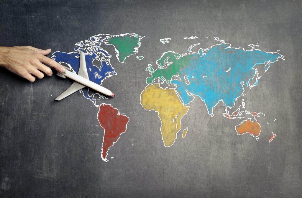 海外旅行計画の写真