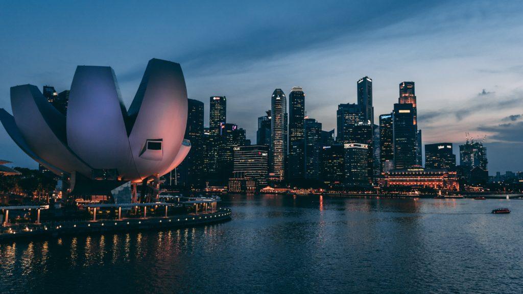 魅力的なシンガポールの写真