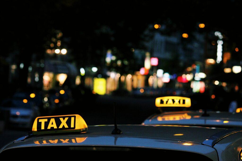 タクシー代の写真