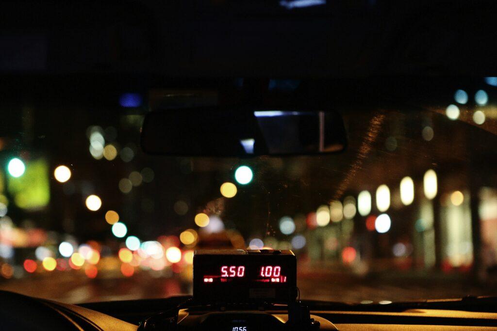タクシー代の相場の写真
